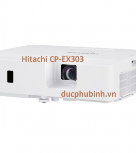 may chieu hitachi cp-ex303